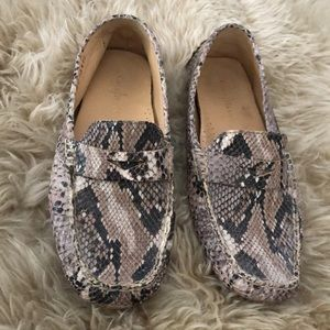 Beautiful Cole Haan Snakeskin Loafer